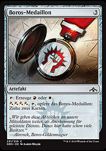 Boros-Medaillon (Boros Locket)